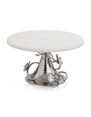 Michael Aram White Orchid Cake Stand-WHITE-One Size