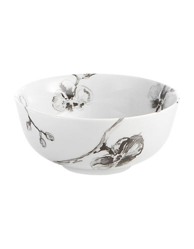 Michael Aram Black Orchid All Purpose Porcelain Bowl-BLACK-One Size