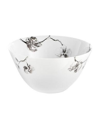 Michael Aram Black Orchid Porcelain Serving Bowl-BLACK-One Size