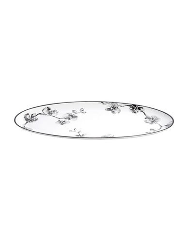 Michael Aram Black Orchid Porcelain Serving Platter-BLACK-One Size