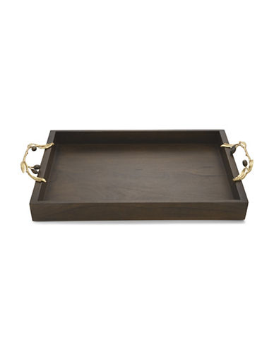Michael Aram Olive Branch Wooden Serving Tray-WOOD-One Size