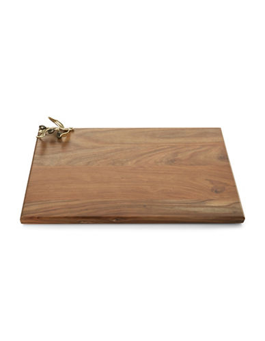 Michael Aram Olive Branch Oversized Wooden Serving Board-WOOD-One Size