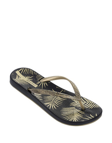 Ipanema Tropical Flip-Flops-BLACK/GOLD-10