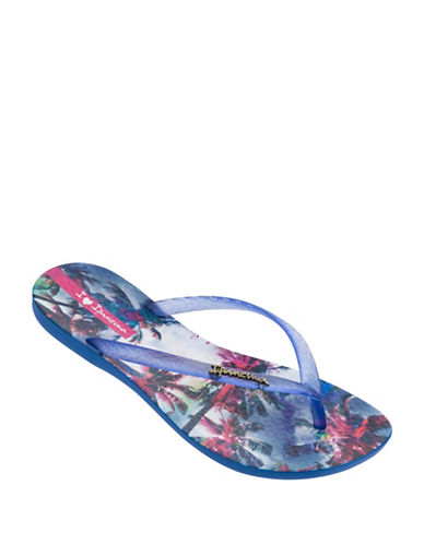 Ipanema Tropical-Print Flip Flops-MULTI-9