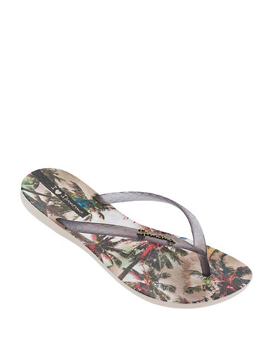 Ipanema Tropical-Print Flip Flops-MULTI-8