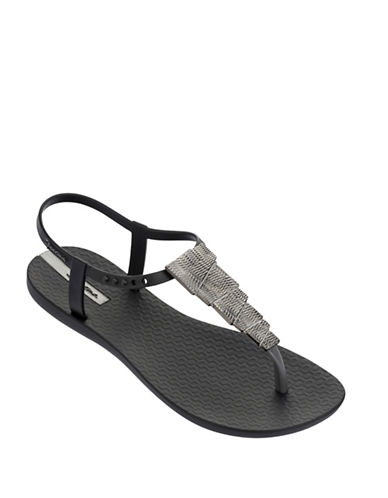 Ipanema Charm Sandals-BLACK-7