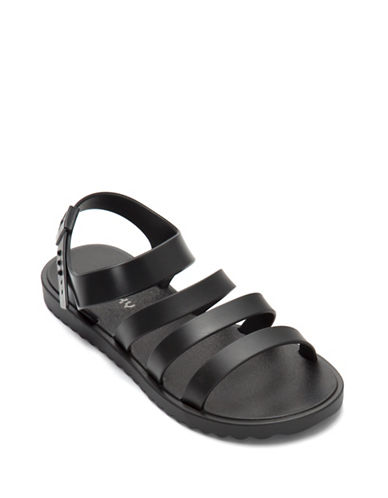 Zaxy Open-Toe Strap Sandals-BLACK-8