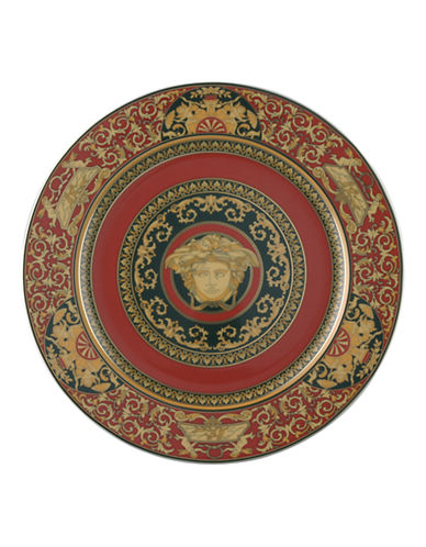 Versace Medusa Red Service Plate-RED-One Size