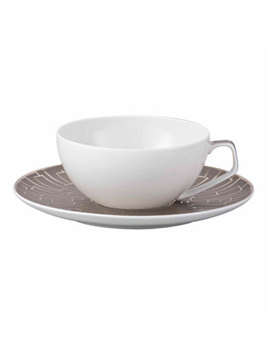 Rosenthal Tac 02 Coffee and Tea Cup-PLATINUM-One Size