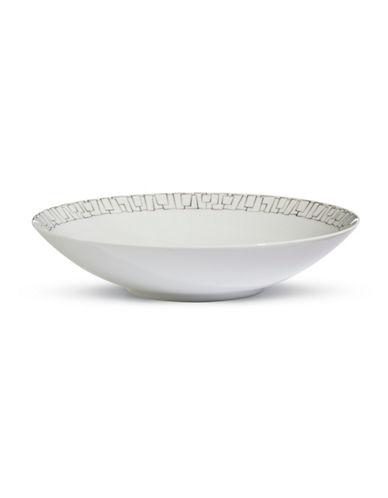 Rosenthal Geometric Rim Soup Bowl-WHITE-One Size
