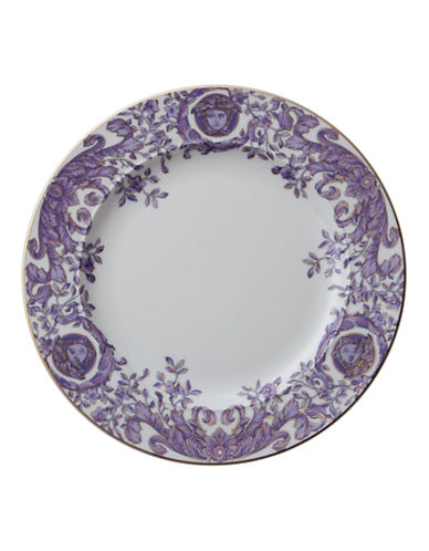 Versace Le Grand Divertisse Dinner Plate-PURPLE-10.5in