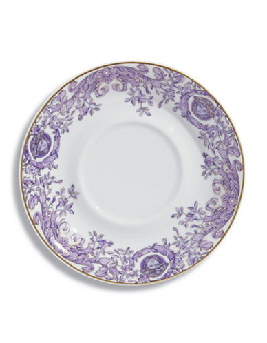 Versace Le Grand Divertissement Saucer-PURPLE-One Size