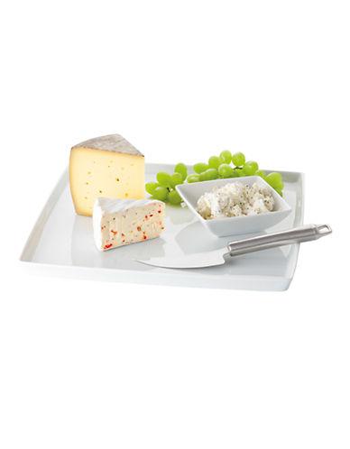 Rosenthal Loft White 3 Piece Cheese Set-WHITE-One Size