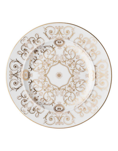 Versace Medusa Gala Bread and Butter Plate-WHITE-7 Inches