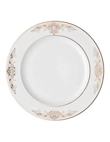 Versace Medusa Gala Salad Plate-WHITE-8.5 Inches