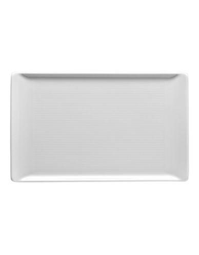 Rosenthal Loft White Rectangular Platter-WHITE-9.5x6