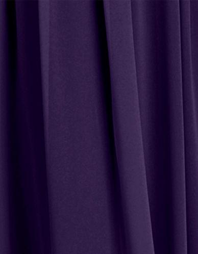Donna Morgan Chiffon Fabric Swatch-AMETHYST-One Size