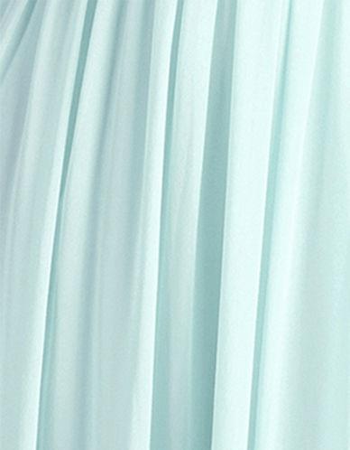 Donna Morgan Chiffon Fabric Swatch-BEACHGLASS-One Size