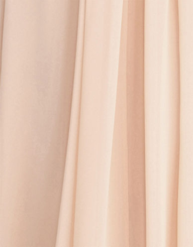 Donna Morgan Chiffon Fabric Swatch-CHANTILLY-One Size