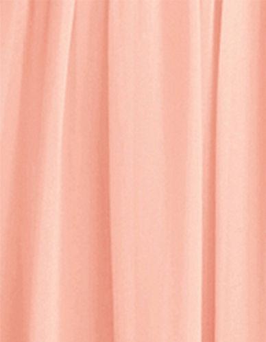 Donna Morgan Chiffon Fabric Swatch-PEACH FUZZ-One Size