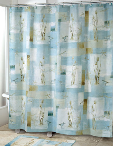 Avanti Blue Waters Shower Curtain-BLUE-One Size