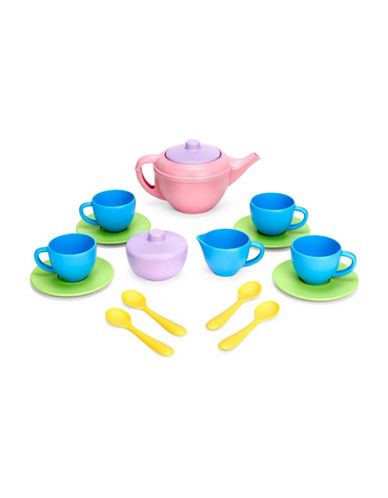 Green Toys 17-Piece Tea Set-ASSORTED-One Size 89209761_ASSORTED_One Size
