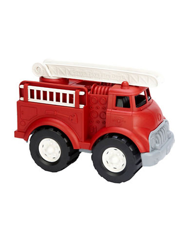 Green Toys Fire Truck-RED-One Size