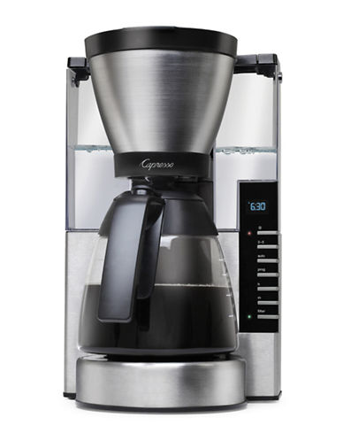 Capresso Capresso MG900 10-Cup Rapid Brew Coffee Maker-SILVER-One Size
