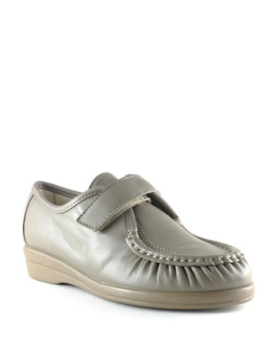 Softspots Angie Casual Shoes-TAUPE-8.5