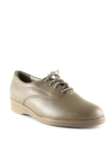 Softspots Jocelyn Oxford Shoes-TAUPE-12W