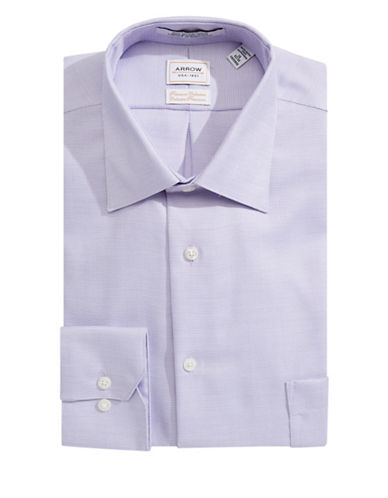 Arrow Classic Fit Dress Shirt-DEEP LILAC-16.5-32/33