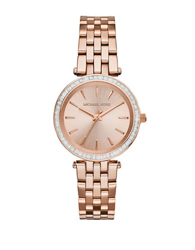 Michael Kors Womens Darci Mini Size Three Hand-ROSE GOLD-One Size