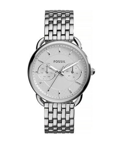 Fossil Womens Tailor Standard Multifunction ES3712-SILVER-One Size
