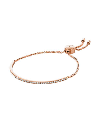 Michael Kors Semi-Precious Stone Strand Bracelet-ROSE GOLD-One Size