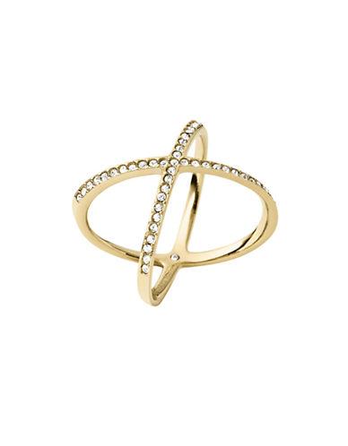 Michael Kors Semi-Precious Stone Ring-GOLD-7