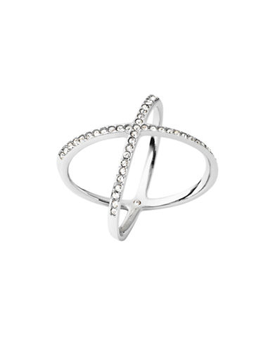 Michael Kors Semi-Precious Stone Ring-SILVER-7