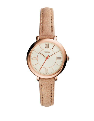 Fossil Womens Analog Jacqueline Watch ES3802-TAN-One Size