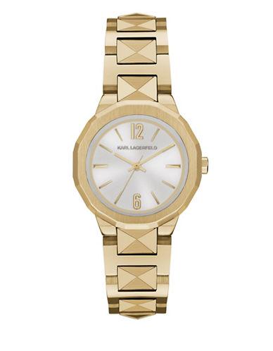 Karl Lagerfeld Paris Joleigh Goldtone Bracelet Watch-GOLD-One Size