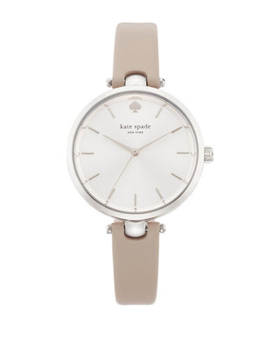 Kate Spade New York Holland Stainless Steel Watch-GREY-One Size