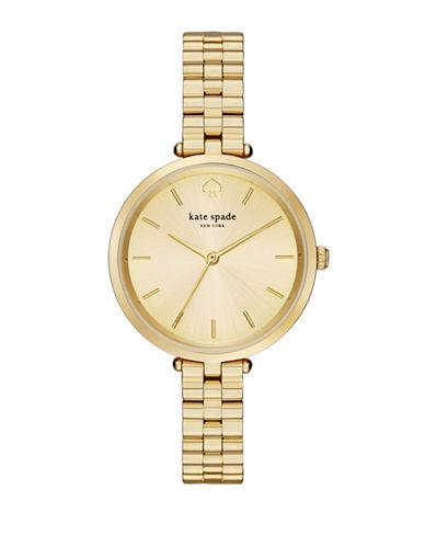 Kate Spade New York Holland Goldtone Bracelet Watch-GOLD-One Size