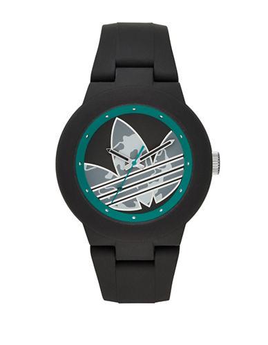 Adidas Aberdeen Silicone Watch-BLACK-One Size