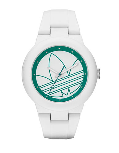 Adidas Aberdeen Silicone Watch-WHITE-One Size