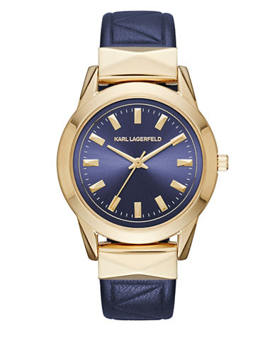 Karl Lagerfeld KL3812 Analog Stainless Steel Strap Watch-BLUE-One Size