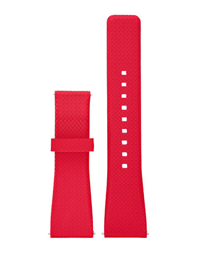 Michael Kors Bradshaw Red Silicone Strap-RED-One Size