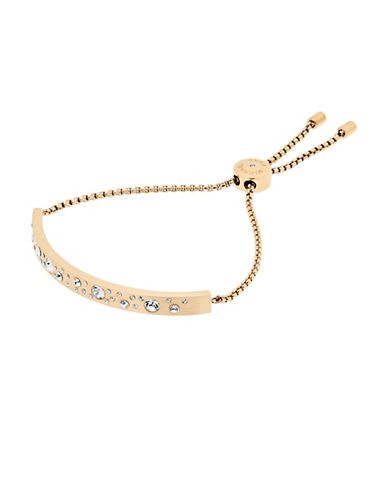 Michael Kors Slim Bar Slider Bracelet-GOLD-One Size