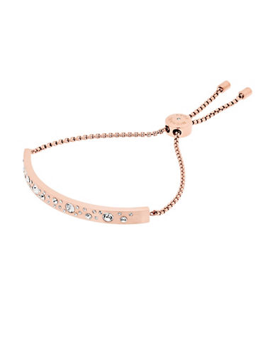Michael Kors Slim Bar Slider Bracelet-ROSE GOLD-One Size