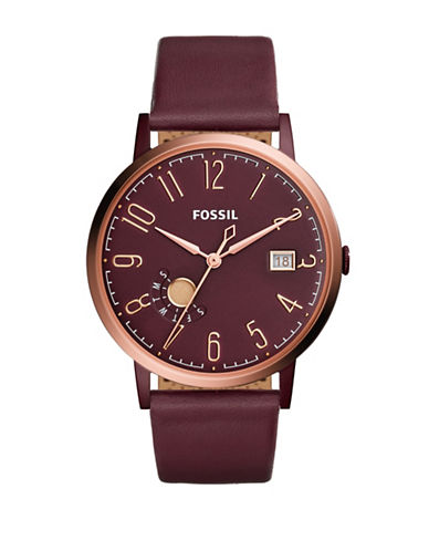 Fossil Vintage Must Analog Watch-RED-One Size
