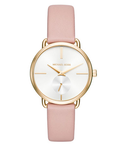 Michael Kors Analog Portia Watch-PINK-One Size