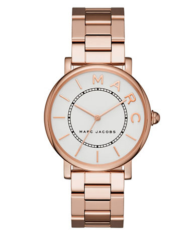 Marc Jacobs Analog Classic Rose-Goldtone Bracelet Watch-ROSE GOLD-One Size