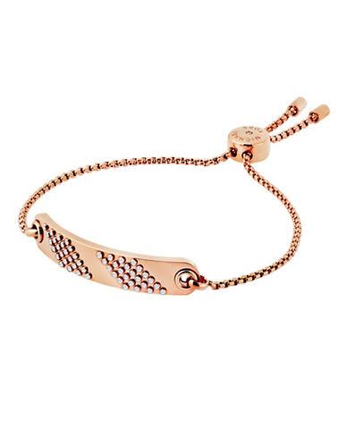 Michael Kors Micro Muse Slider Bracelet-ROSE GOLD-One Size